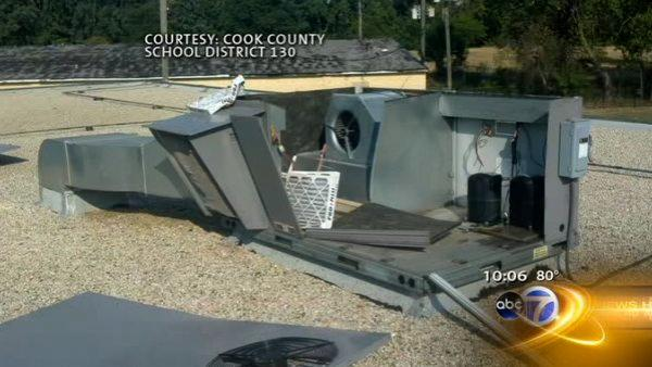 Police investigating multiple air conditioning thefts