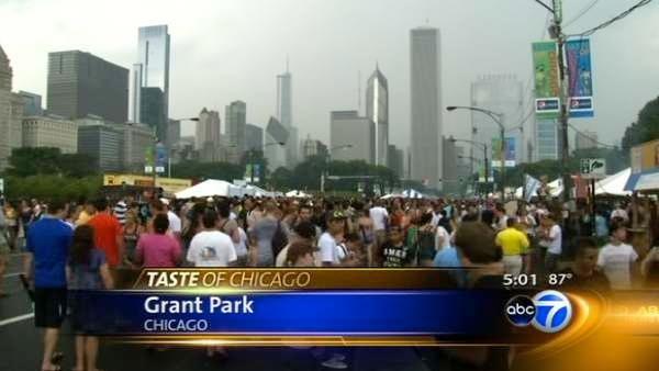 Revamped Taste of Chicago more laid back