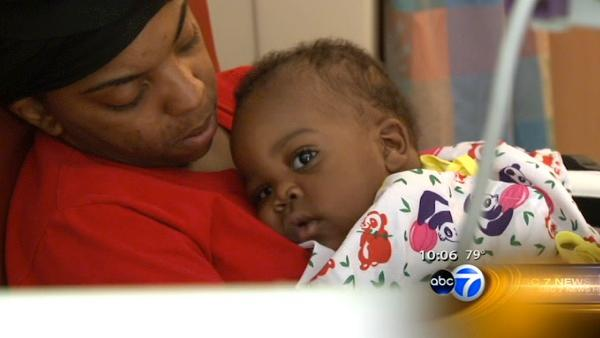Baby survives three-story fall window in Gary