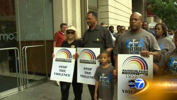 Vigils taking place in Chicago, across country