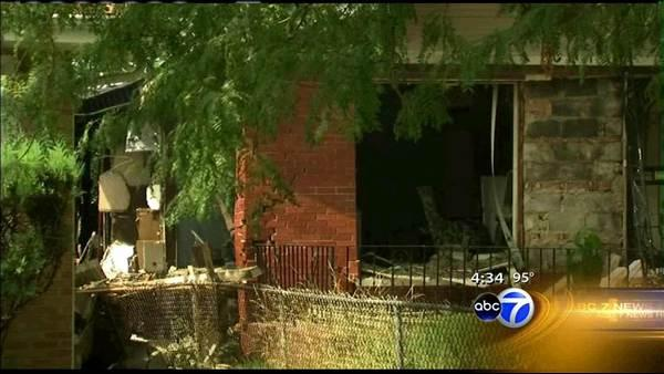 Crews demolish South Side home after explosion