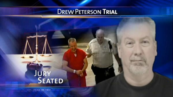 Jury seated in Drew Peterson murder trial