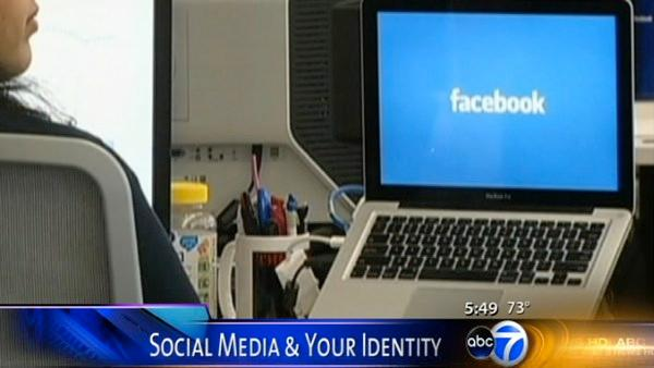 Protecting your identity on social media sites