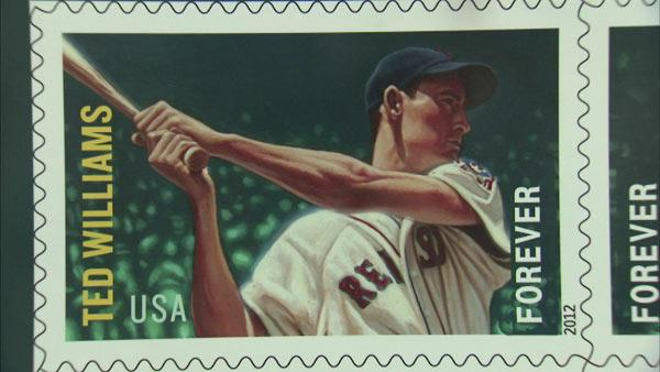 Baseball greats featured on USPS stamps