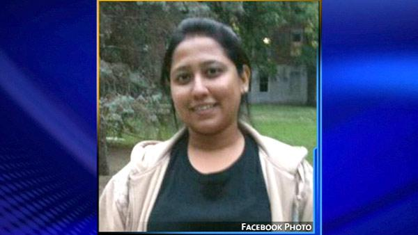 Aditi R. Avhad, 25, a native of India, was killed when a double-decker Megabus from Chicago crashed into a pillar in Litchfield, Illinois, northeast of St. Louis, Thursday, August 2, 2012.
