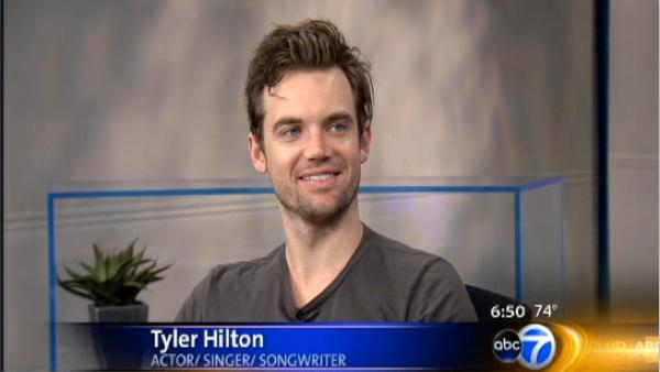 Tyler Hilton stops by ABC 7