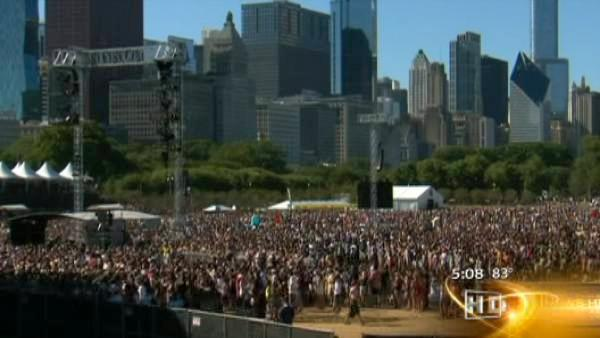 Muddy mess for Lollapalooza final day