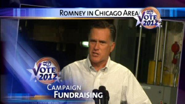 Mitt Romney in Chicago, Elk Grove Village