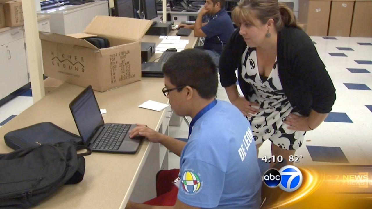 Leyden HS students get free laptops