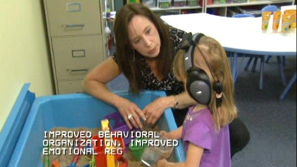 Sound-based therapy helping kids with developmental disabilities
