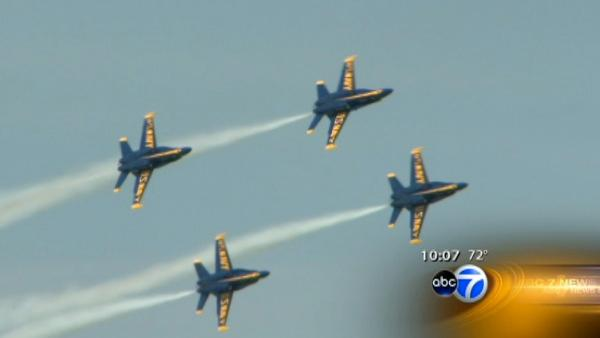 Crowds turn out for Air and Water show
