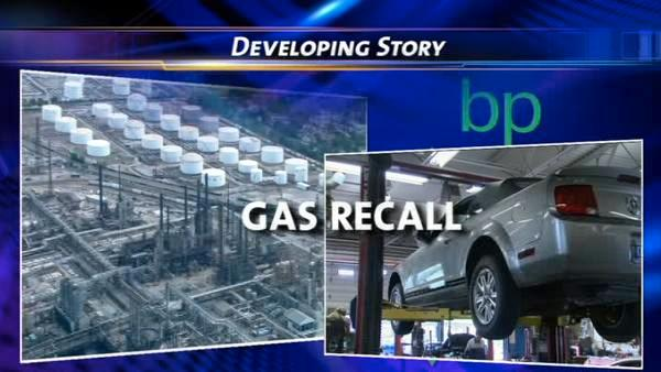BP recalling regular unleaded fuel in Northwest Indiana