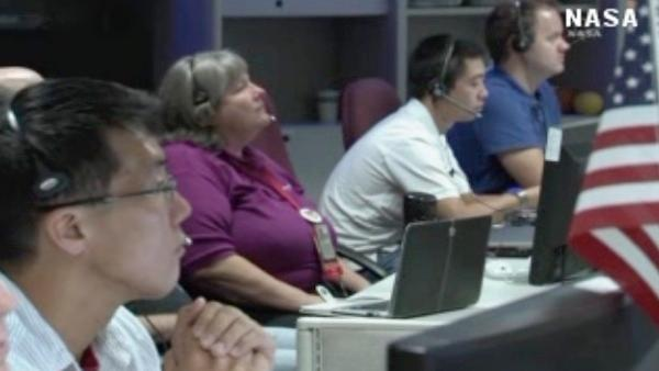 NASA beams back first voice message from Mars
