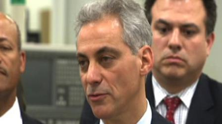 Mayor Emanuel is seen in this file image.