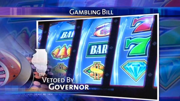 Governor Quinn vetoes gambling expansion bill
