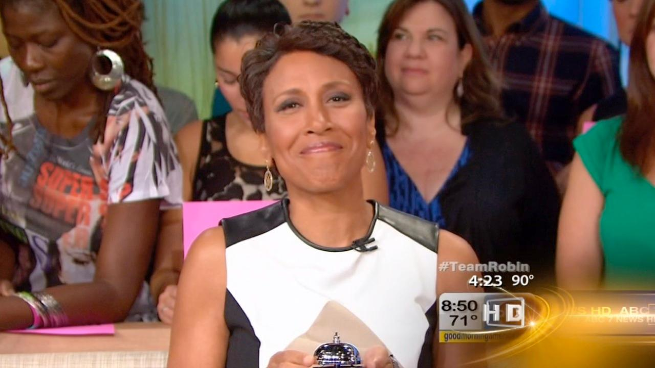 Good Morning America's Robin Roberts enters hospital for bone marrow transplant