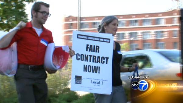 CTU sticking with Sept. 10th strike date