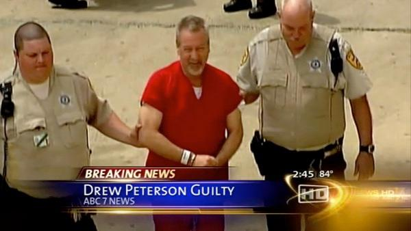 Watch as it happened: Drew Peterson guilty of first-degree murder