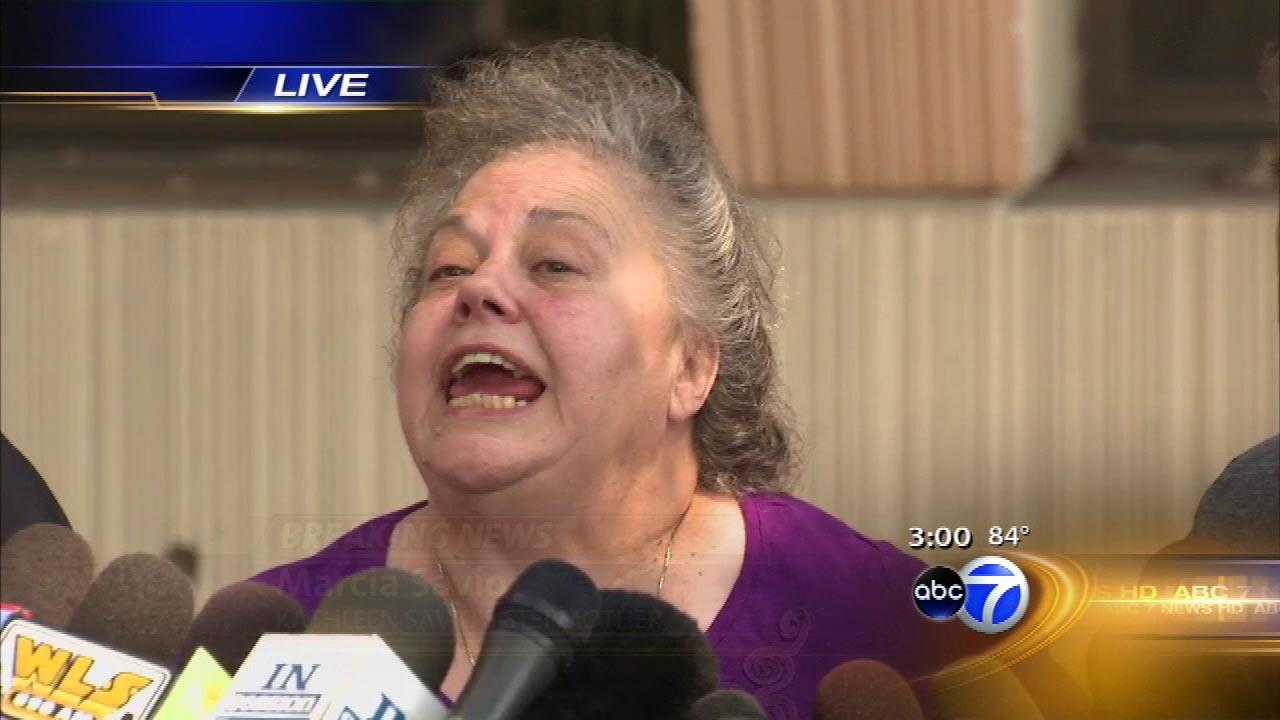 Kathleen Savios stepmother reacts after Drew Peterson was found guilty of first-degree murder in  her 2004 death  on September 6, 2012.