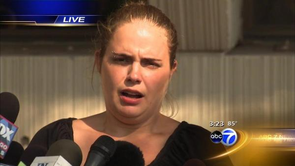 Stacy's sister talks to media after Peterson guilty verdict