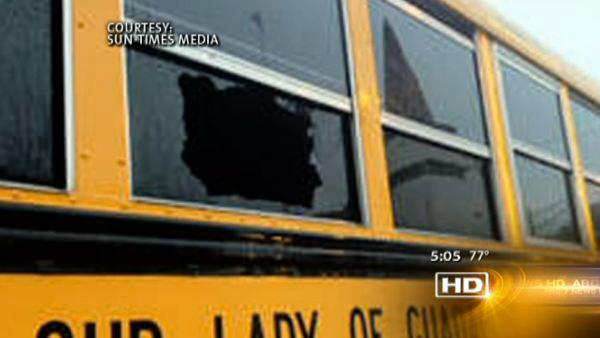 No injuries after shots fired at school bus