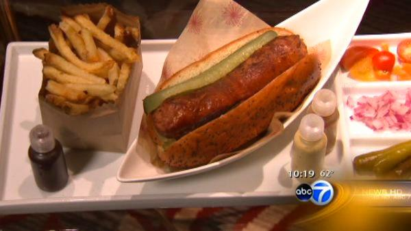 Chicago chef ups the ante with homemade hot dogs