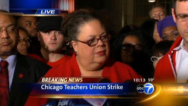 CTU News Conference on Strike