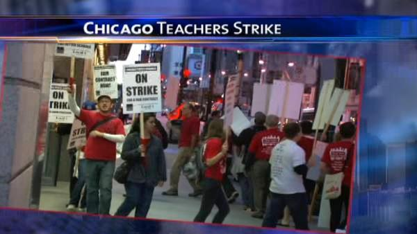 'Agreement in principle' reached in CPS teachers strike