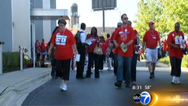 Teachers to rally in Union Park as talks continue