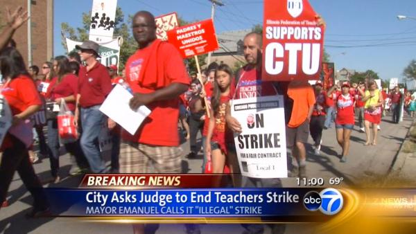 Judge postpones CPS strike injunction ruling til Wednesday