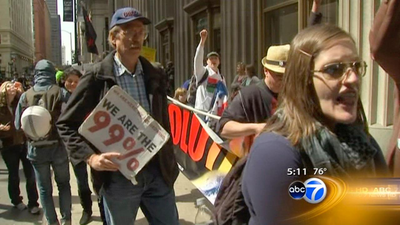 Occupy Chicago anniversary rally, march planned for Monday evening