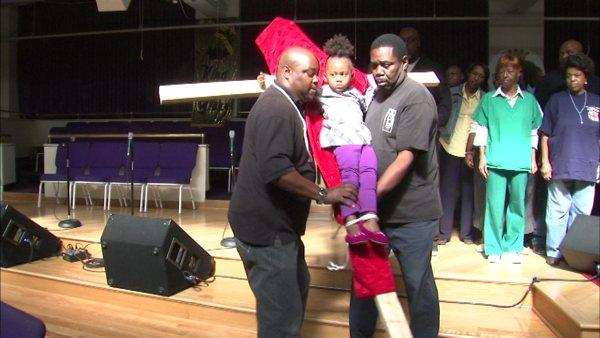 Bishop Trotter 'crucifies' granddaughter to protest teachers strike