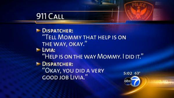 RAW AUDIO: 4-year-old calls 911, saves mom