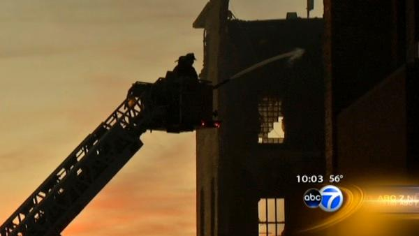Avondale warehouse blaze under investigation