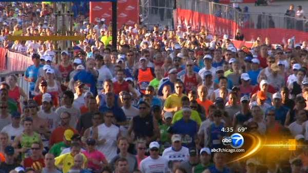 Runners anticipate cool temps for marathon