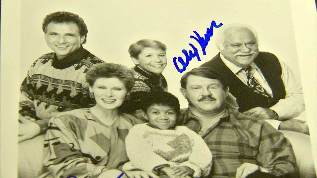 Alex Karras and the cast of Webster