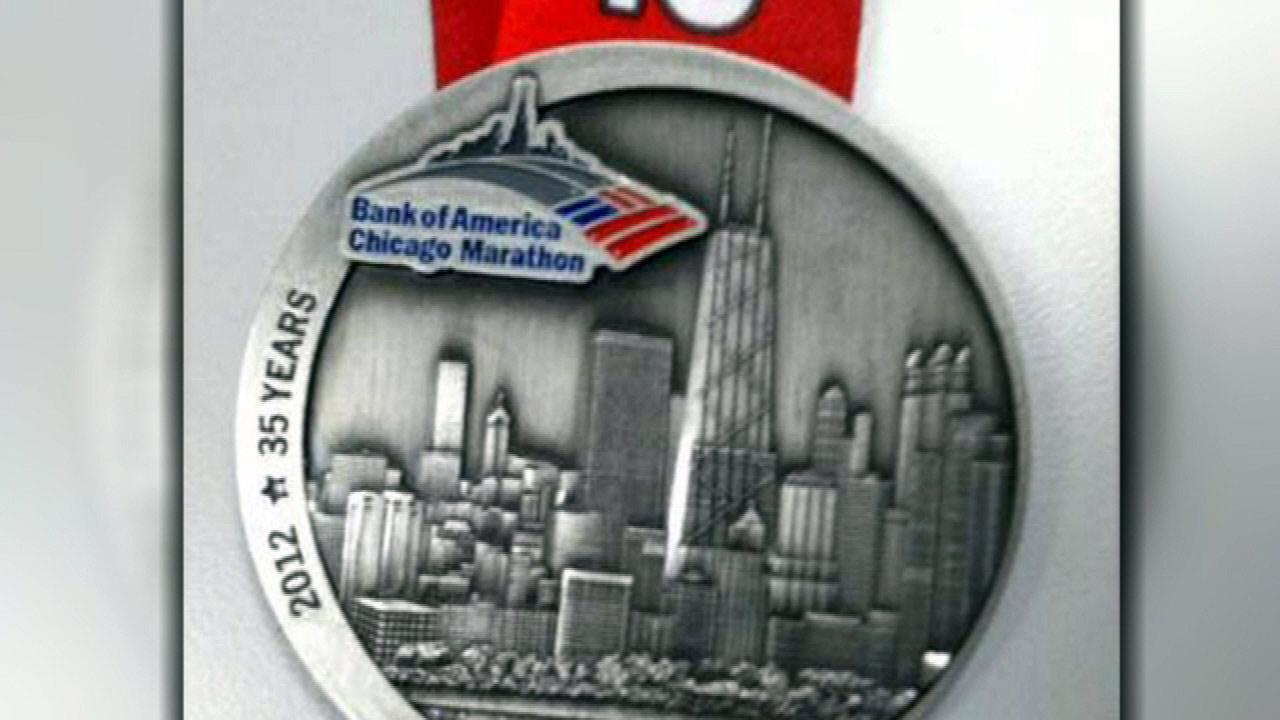 Missing Chicago Marathon medals on way to runners