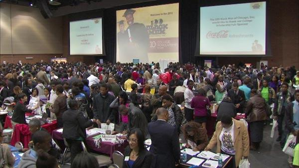 College fair offered choices, answers