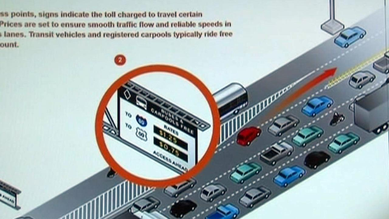 Plan would charge Chicago commuters to drive on faster express lanes