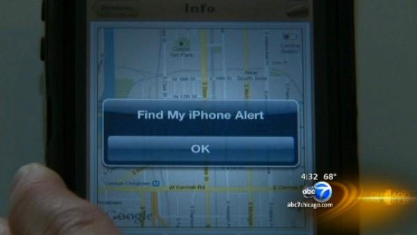 Phone tracking app locates iPhone robbery suspects