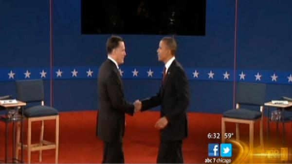 Chicagoans react to Obama, Romney debate