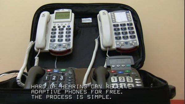 Free amplified phones available to some Ill. residents