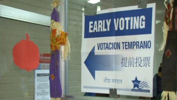Record early voting turnout in Cook County