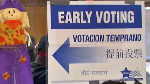 How do officials make sure people don't vote twice?
