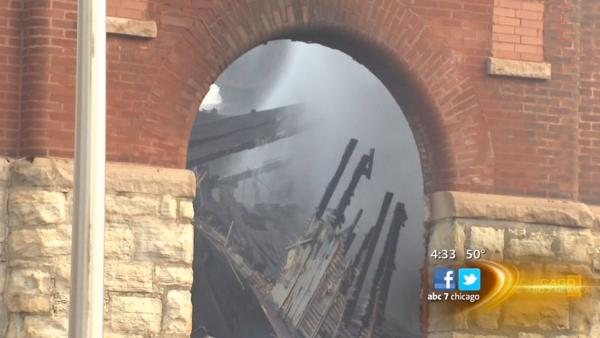 Fire destroys Englewood church