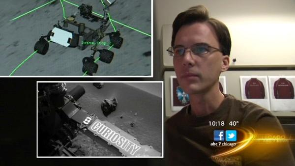 Illinois connection helping to drive Mars rover