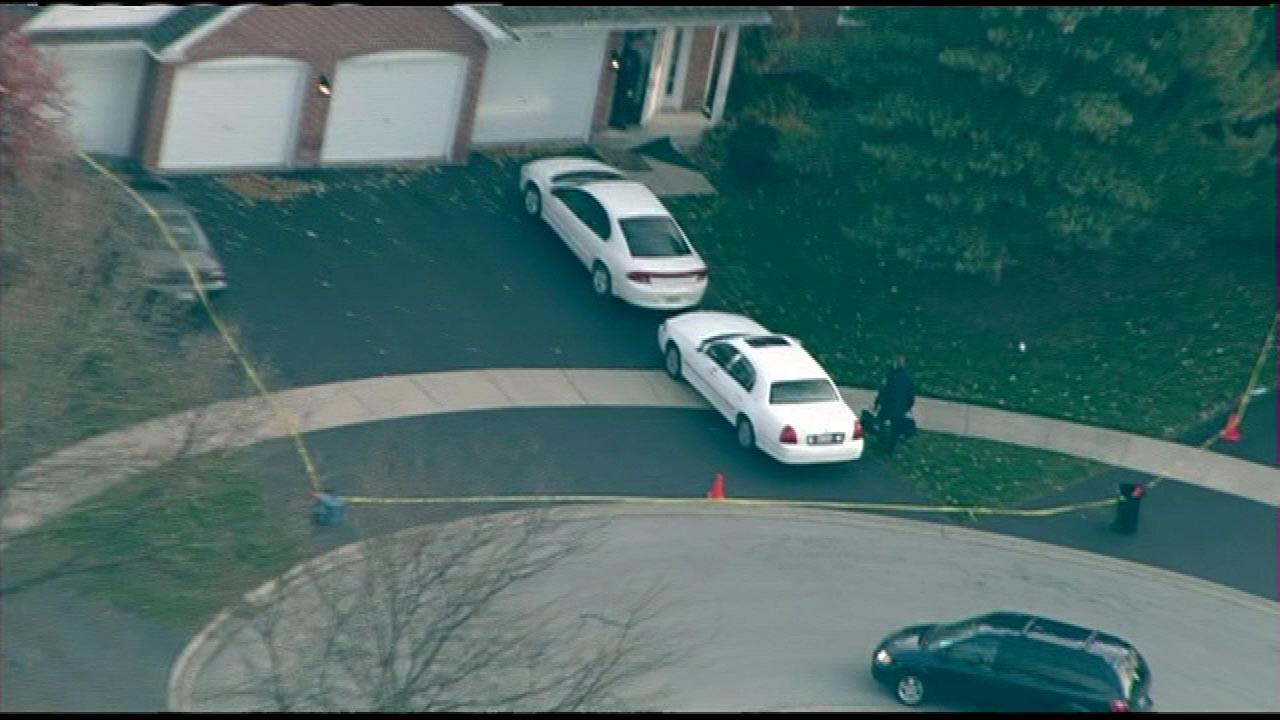 Two children were found murdered at a Naperville townhouse in the 800-block of Quin Court.