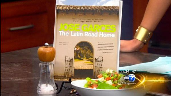 Chef Jose Garces' new cookbook