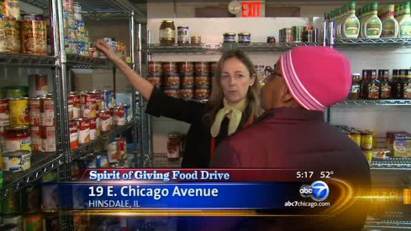 Spirit of Giving: Hinsdale pantry provides food for hundreds of families