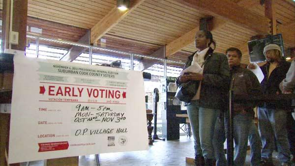 Vote 2012: High turnout as early voting ends
